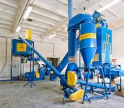 Оборудование для приготовления комбикормов и гранулирования отходов
